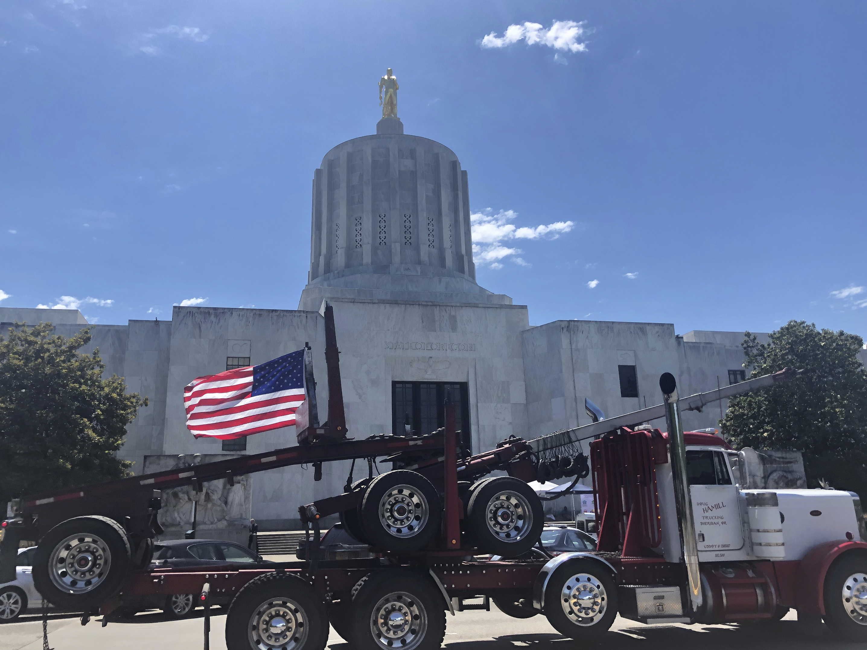 Oregon Republicans Are On The Lam Over A Climate Bill