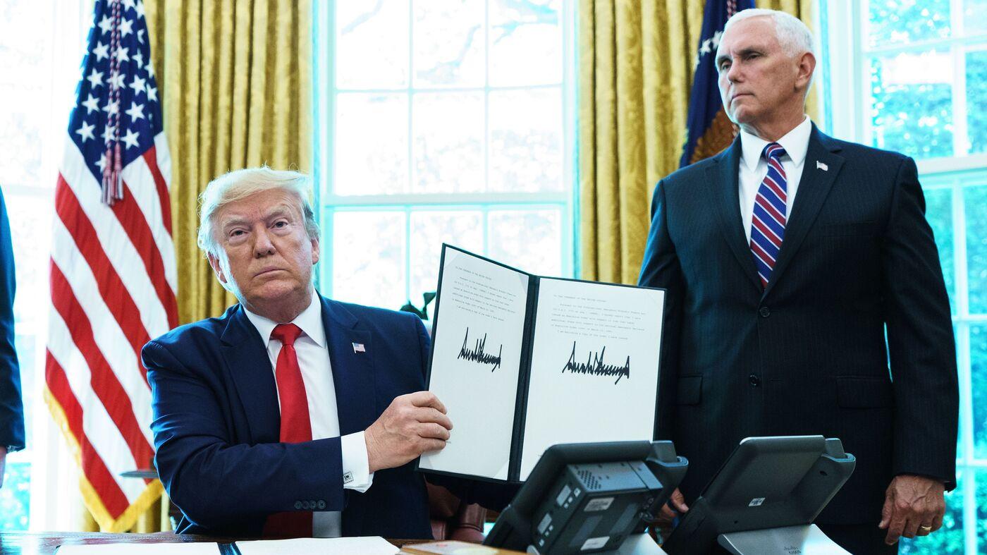 Trump Announces New Economic Sanctions Against Iran's Leaders