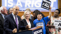 "Sens. Cory Booker and Kirsten Gillibrand are among the presidential candidates to back Sen. Bernie Sanders' ""Medicare-for-all"" legislation, but even some Democrats who co-sponsored it have welcomed other policies."