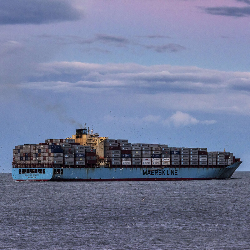Cargo Shipper Maersk Bets Big On Zero Carbon  Will It Pay Off? : NPR