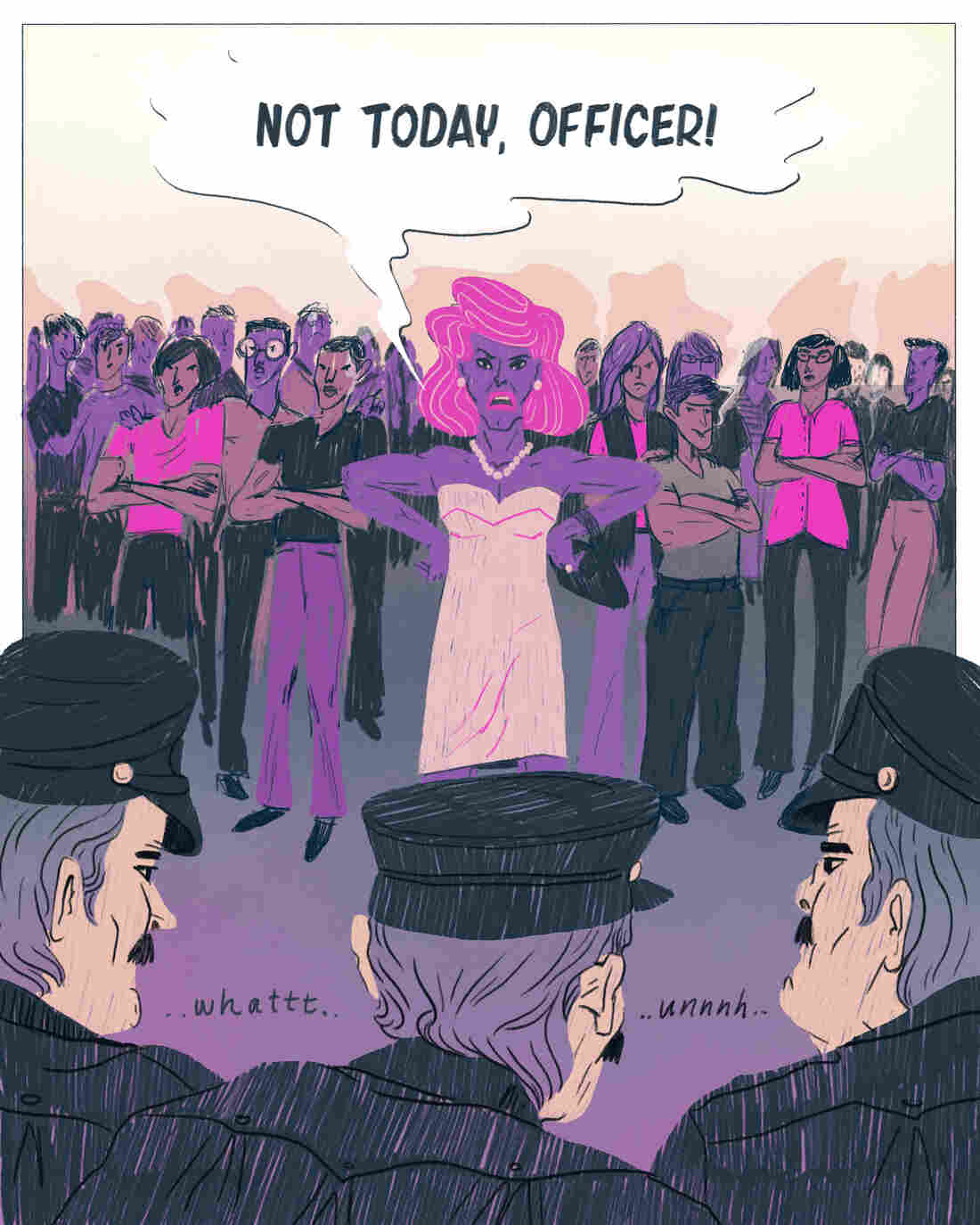 Stonewall patrons stood up to police during a raid on June 28, 1969.