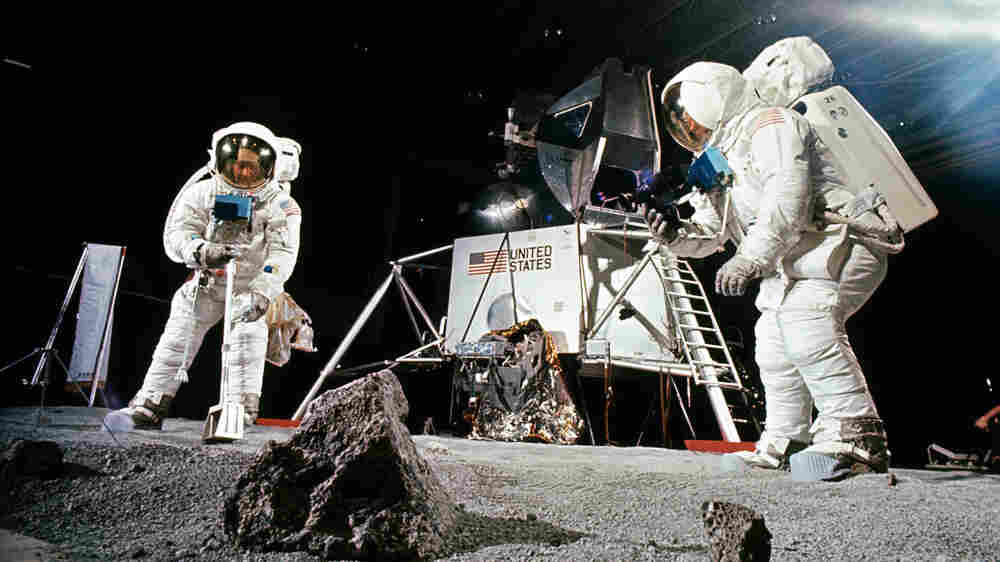 Moon Rocks Still Awe, And Scientists Hope To Get Their Hands On More