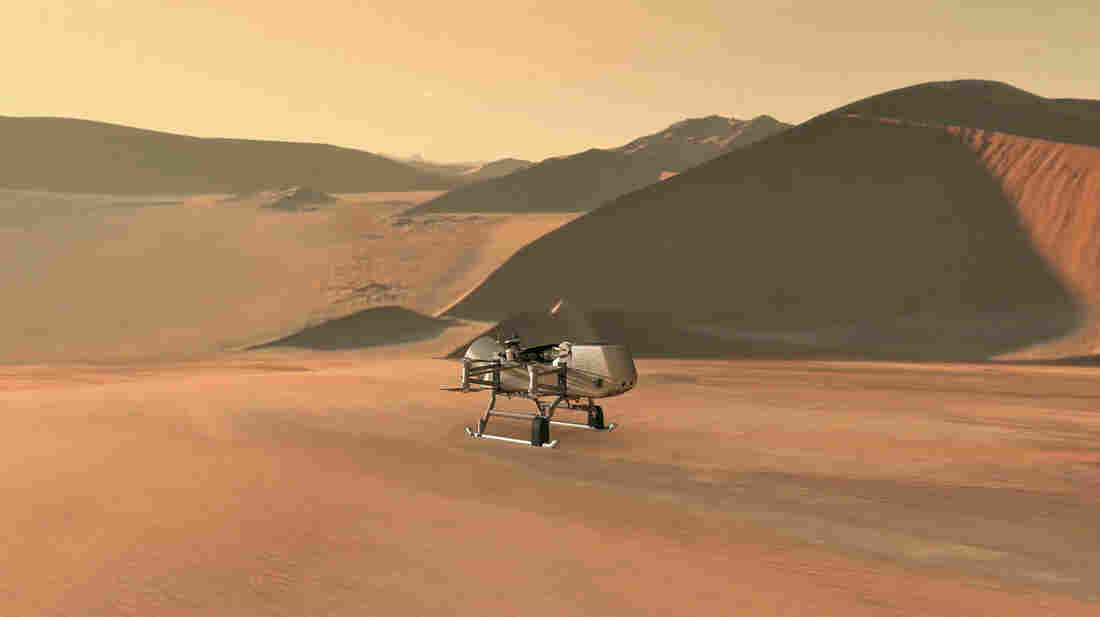 NASA plans to send a drone to Saturn's largest moon