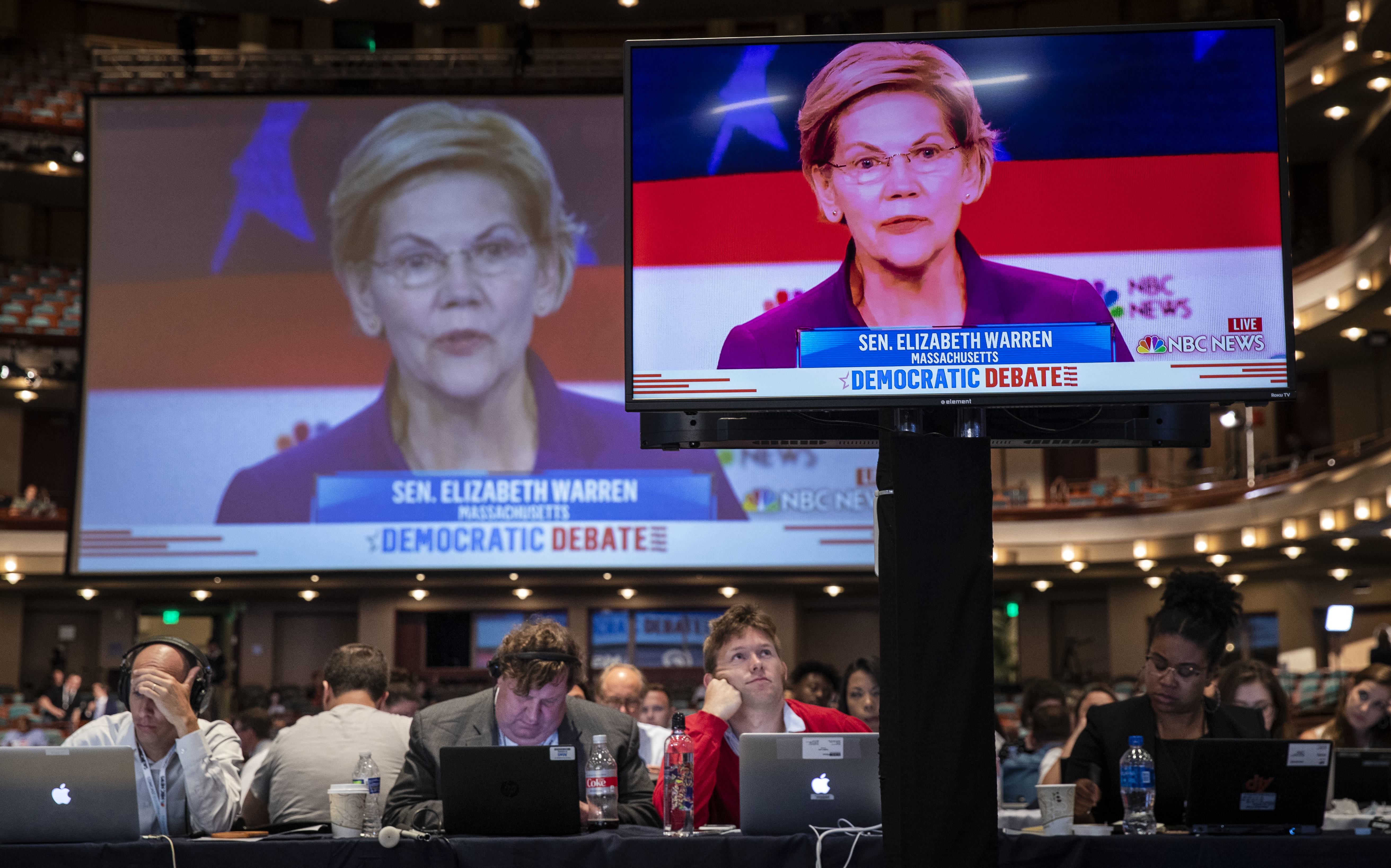 The 1st Democratic Primary Debate In 100 Words (And 7 Video Clips)