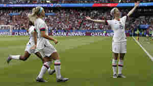 U.S. Wins Again At Women's World Cup, Defeating Host France
