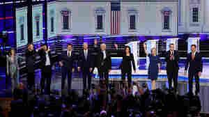 Recap: Night 2 Of The Democratic Primary Debate In 100 Words (And 7 Videos)