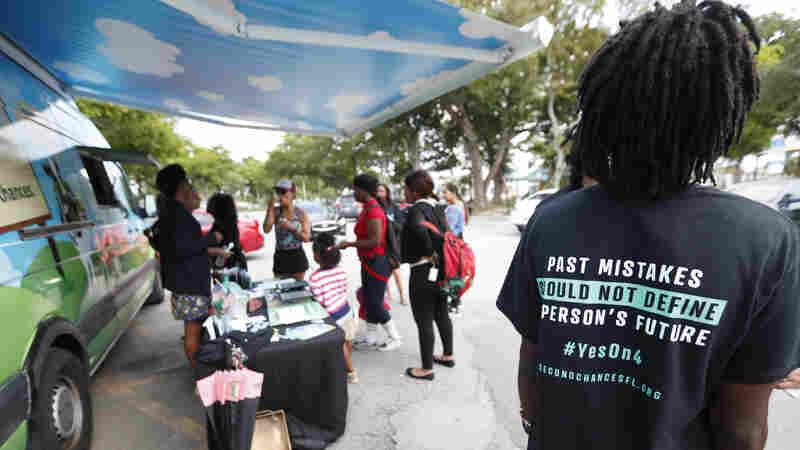 ACLU Sues Over Florida Law That Requires Felons To Pay Fees, Fines Before Voting