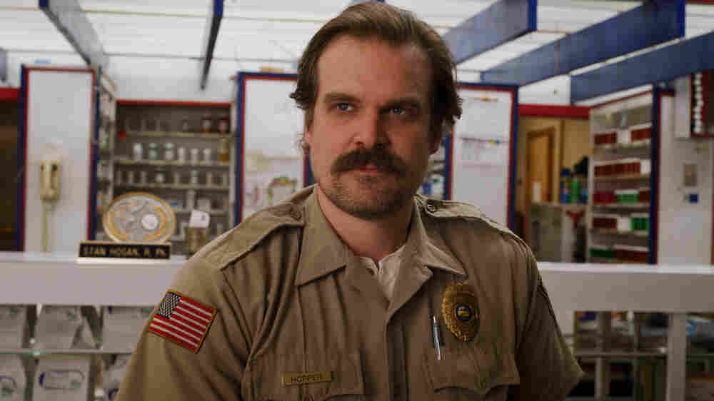 'Stranger Things' Star David Harbour Will Take Messy Over Perfect Any Day