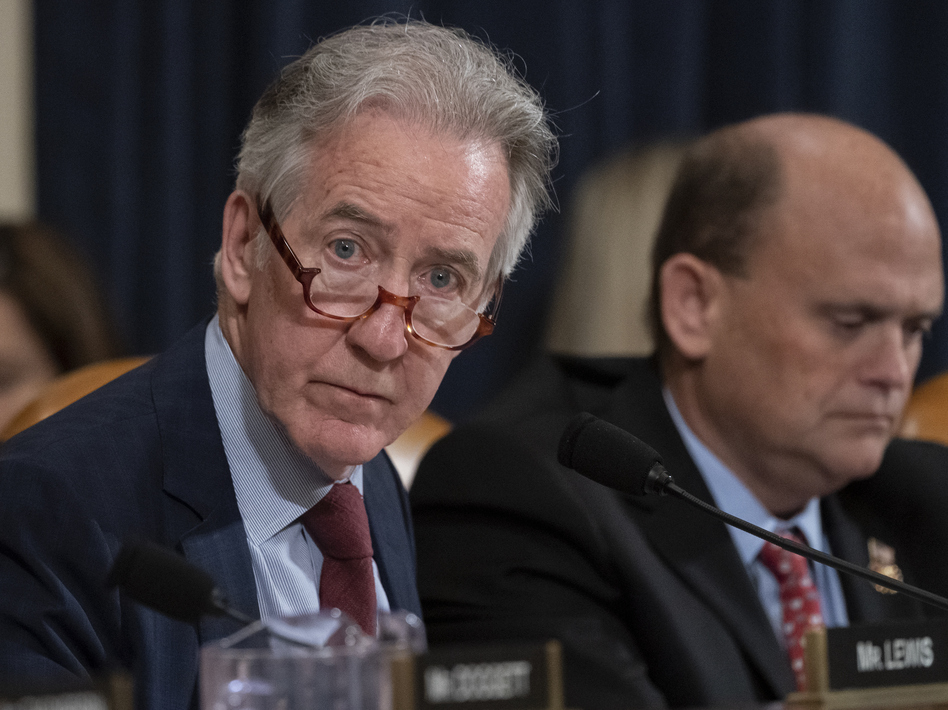 House Ways and Means Committee Chairman Richard Neal, D-Mass., filed a lawsuit in U.S. District Court to compel the release of President Trump's tax returns. (J. Scott Applewhite/AP)