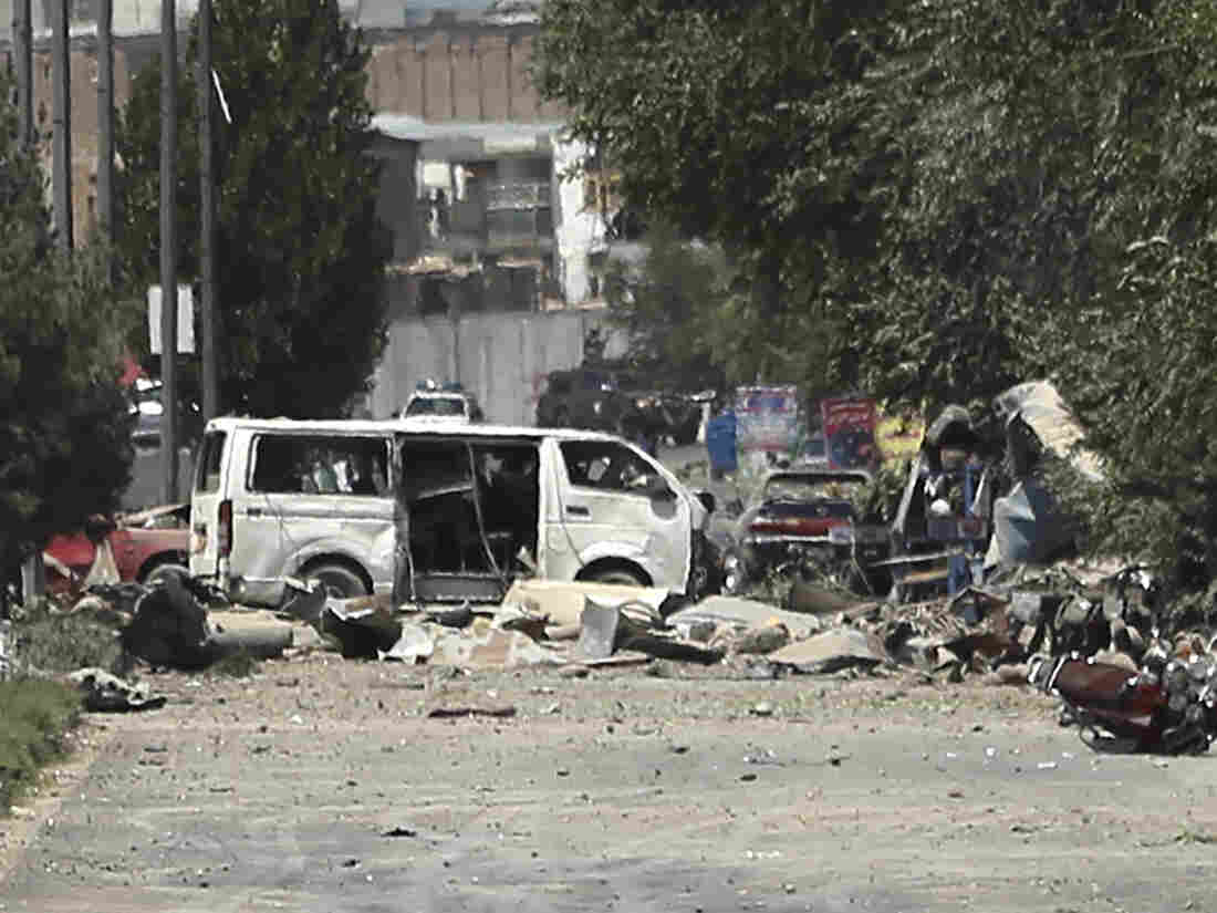 34 killed in Kabul blast Taliban claim responsibility