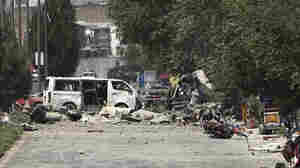 White House Condemns Day-Long Taliban Attack That Killed At Least 6