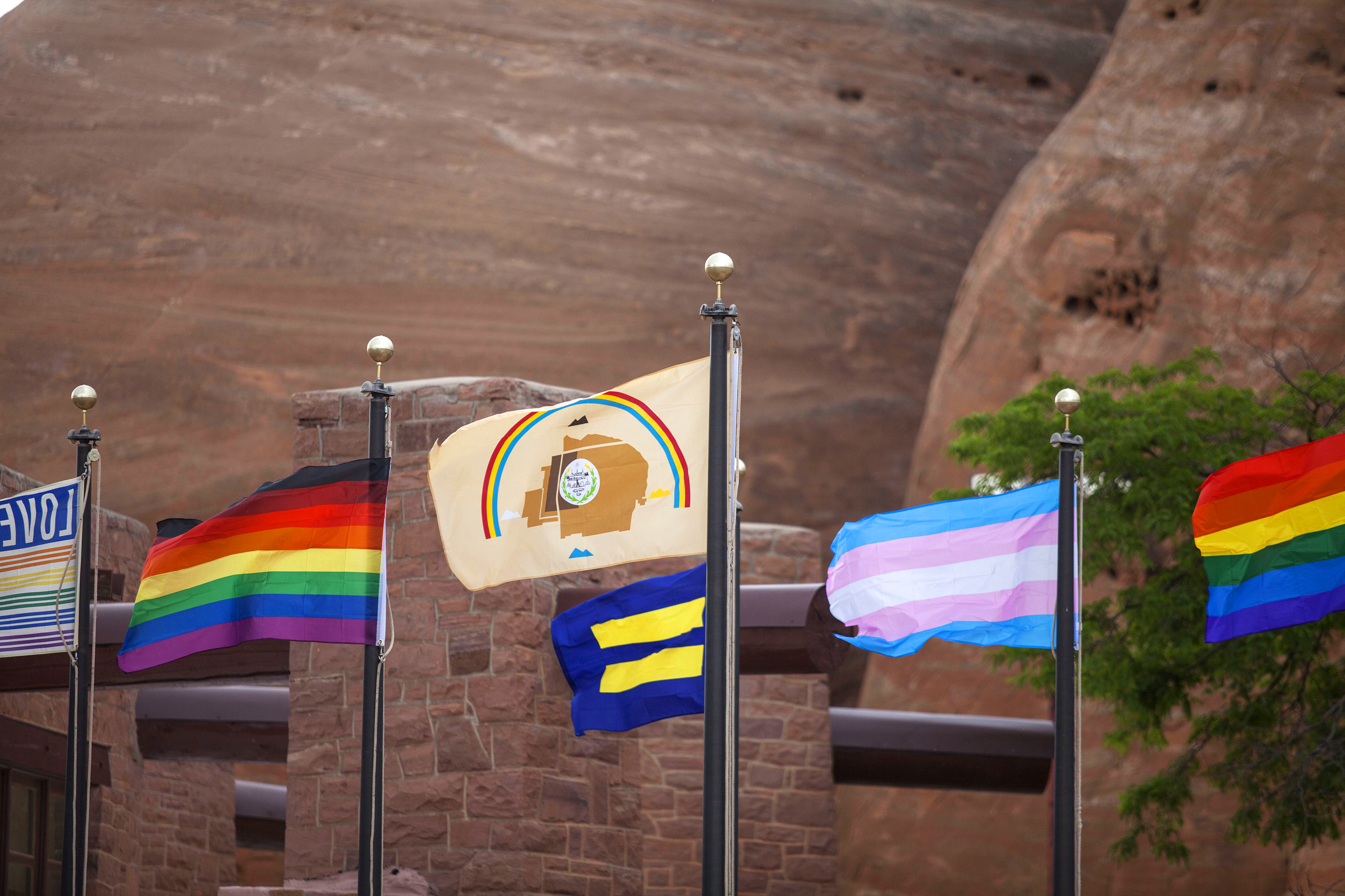 Dine Pride Navajo Nation Highlights Lgbtq Community The Picture Show Npr