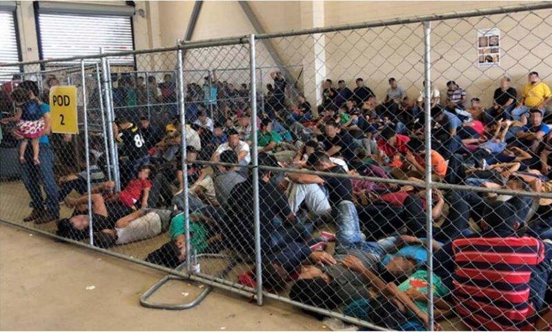 DHS Watchdog Describes Crammed Detention Centers, A Ticking