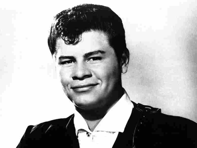 """Musician Ritchie Valens as shown in 1958. Valens is known for popularizing """"La Bamba"""" in the United States. He died the next year in a plane crash in Iowa with fellow musician Buddy Holly."""