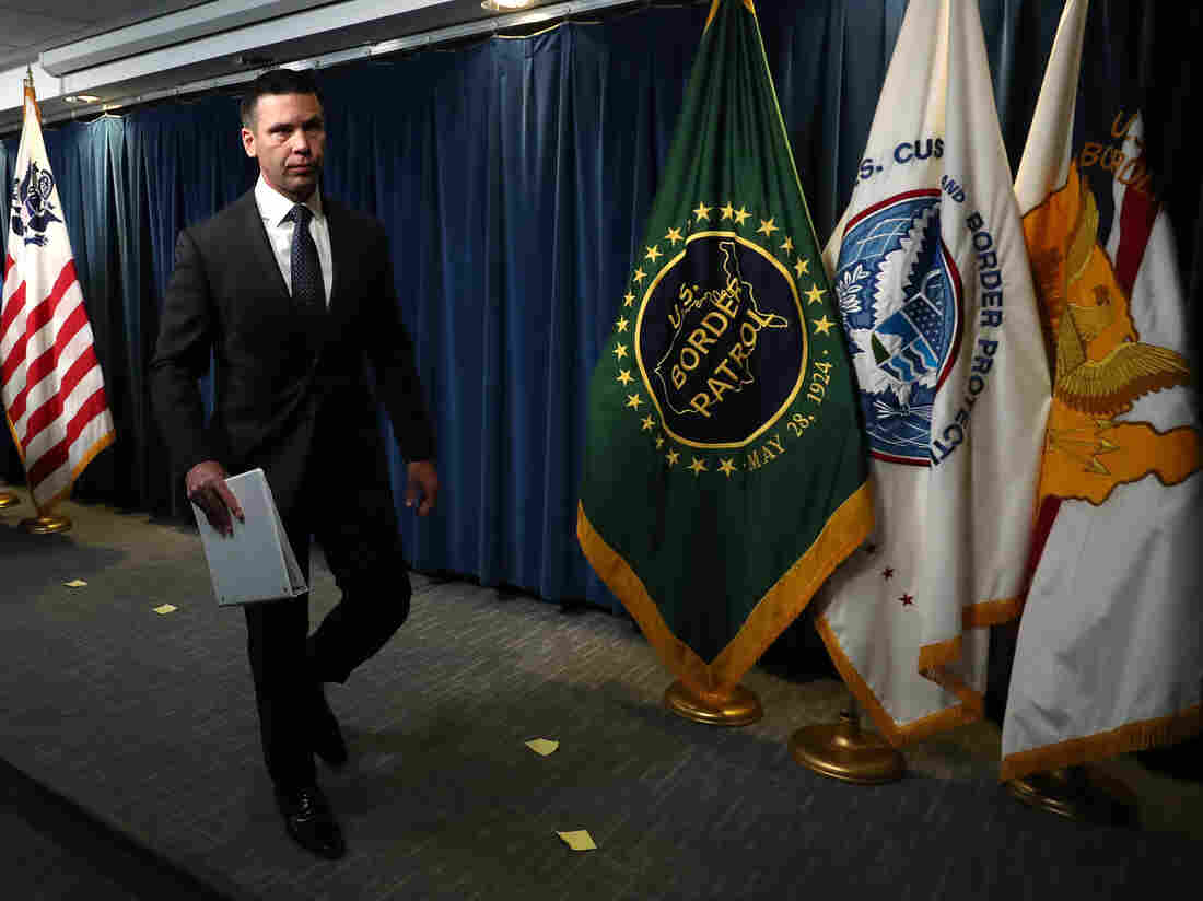 Kevin McAleenan out at Homeland Security