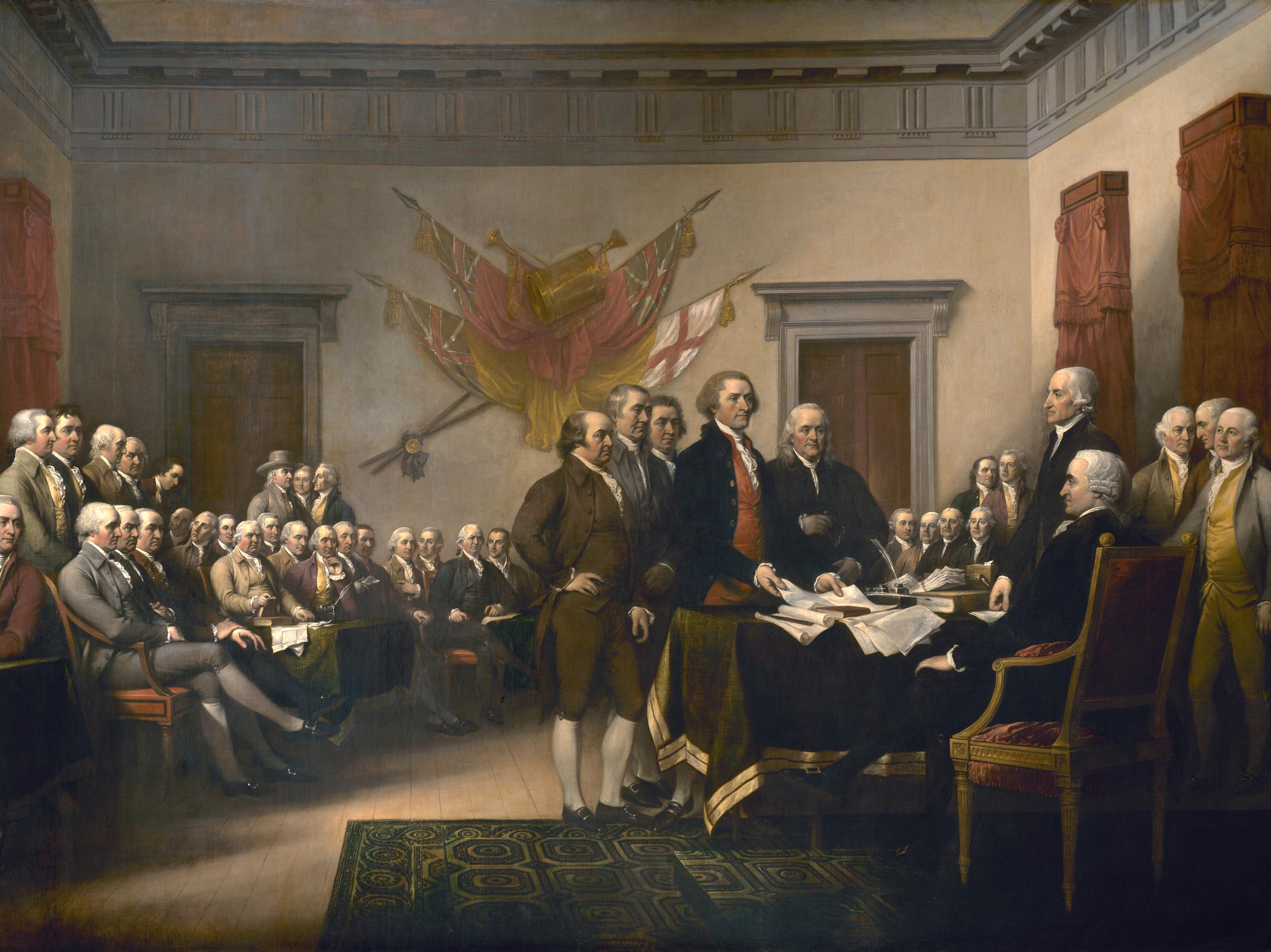 The American Economy Of 1776