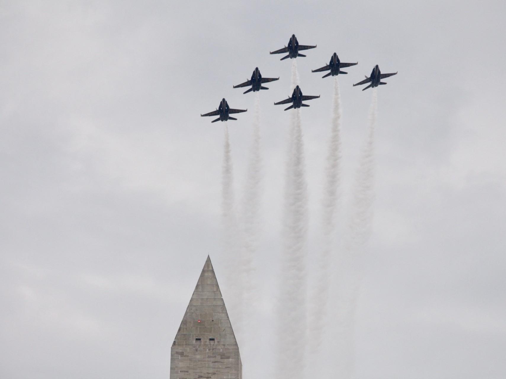 In 4th Of July Address, Trump Hails Military As Fighter Jets Fly