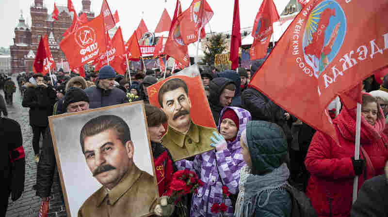 Amid 'Quiet Rehabilitation Of Stalin,' Some Russians Honor The Memory Of His Victims