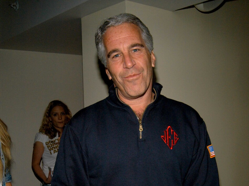 Federal prosecutors announced charges of sex trafficking against wealthy financier Jeffrey Epstein on Monday. Epstein is seen here in 2005. (Patrick McMullan/Getty Images)
