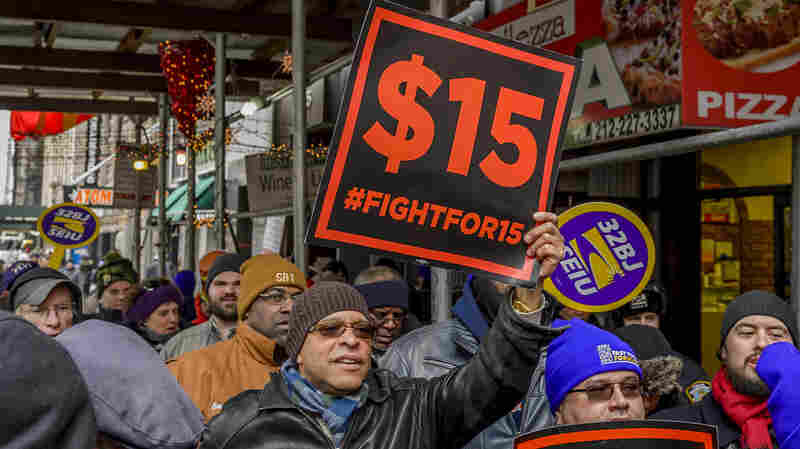$15 Minimum Wage Would Boost 17 Million Workers, Cut 1.3 Million Jobs, CBO Says