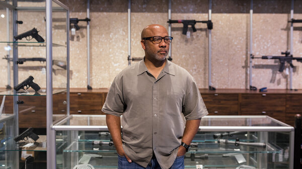 Philip Smith is the president and founder of the National African American Gun Association. Since its creation in 2015, the group has seen rapid growth with roughly 30,000 members and 75 chapters nationwide.