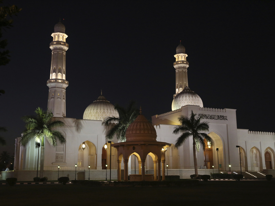 The Sultan Qaboos Mosque in Salalah, Oman. The country has emerged as a quiet facilitator of dialogue, including between Iran and the U.S. (Sam McNeil/AP)