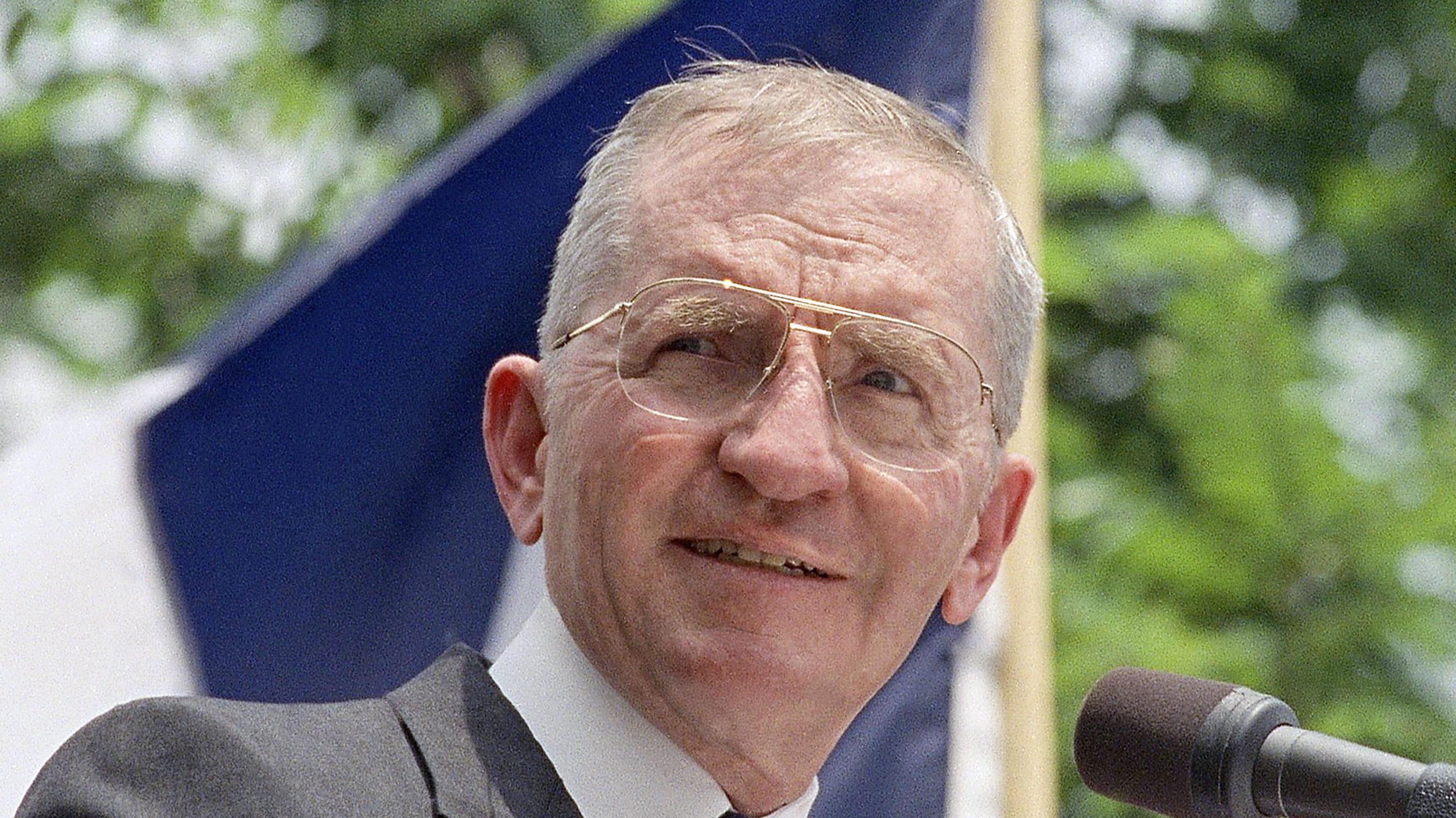 Ross Perot ran for president twice, in 1992 and 1996. He died on Tuesday in Dallas.