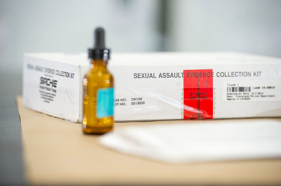 For 25 years, the federal Violence Against Women Act has required any state that wants to be eligible for certain federal grants to certify that the state covers the cost of medical forensic exams for people who have been sexually assaulted. (Ann Hermes/The Christian Science Monitor via Getty Images)