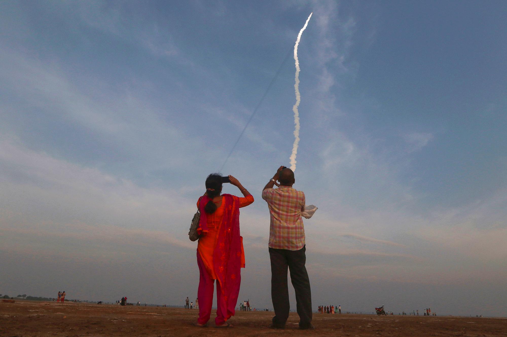 As America Celebrates Apollo, A New Moon Race Is Underway