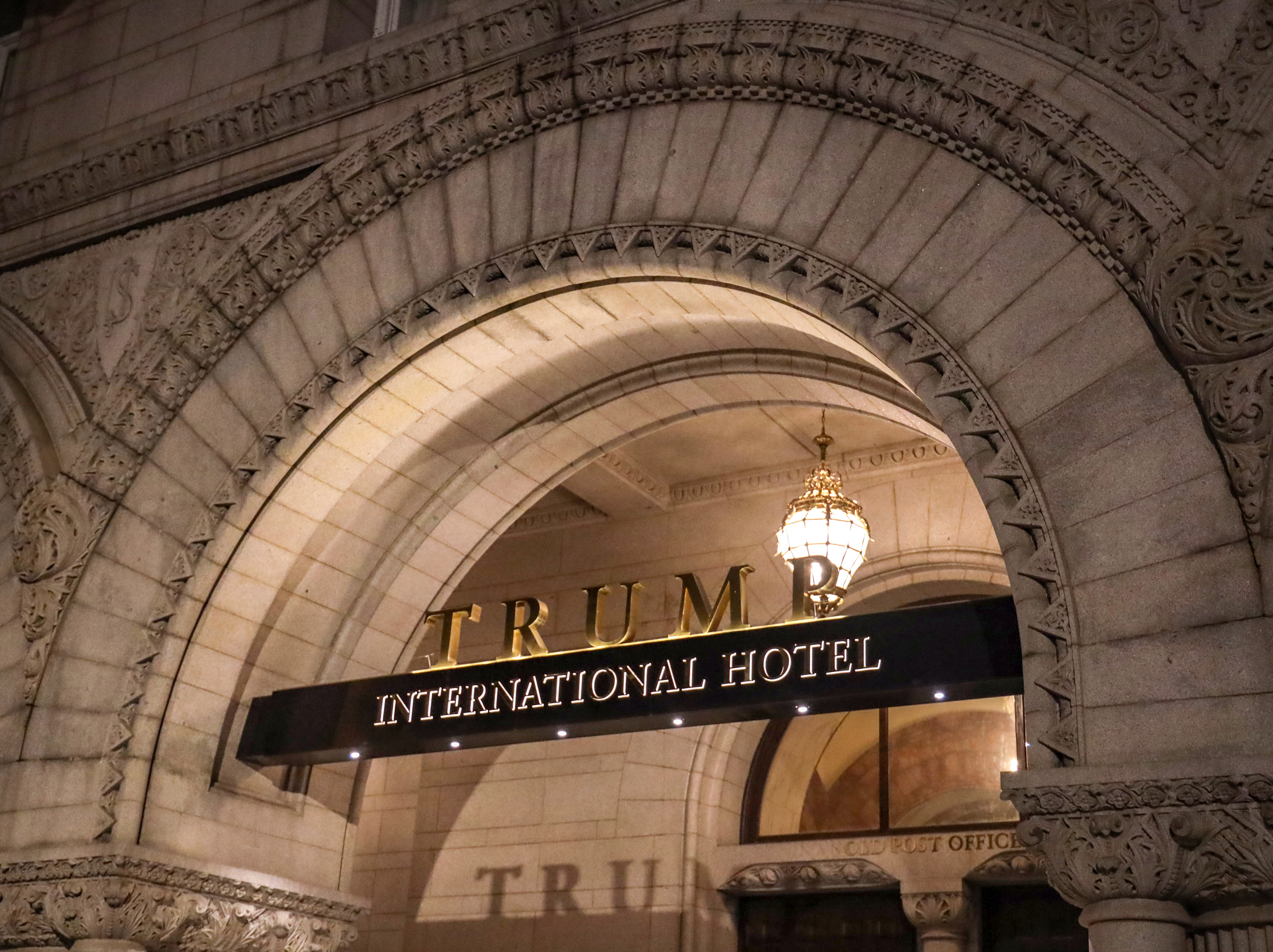 A three-judge panel ordered the dismissal of a lawsuit that argued President Trump was violating the emoluments clauses of the Constitution through his business empire.