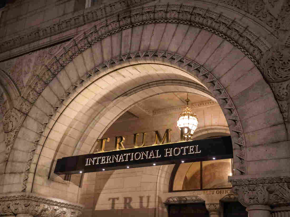 Court tosses suit alleging Trump violated Constitution with political hotel guests