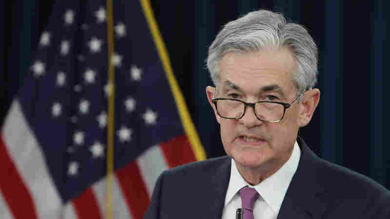 Fed Chairman Powell Hints At Interest Rate Cut; Stocks Rally