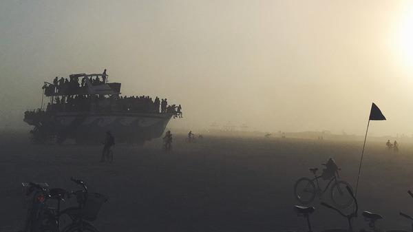 Art Car at Burning Man 2017