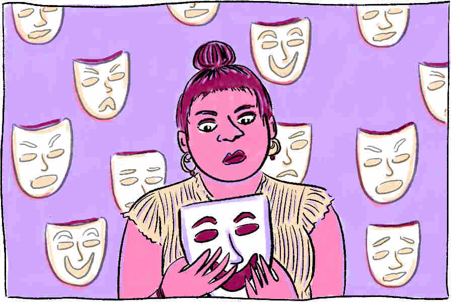 Illustration for story on personality tests.