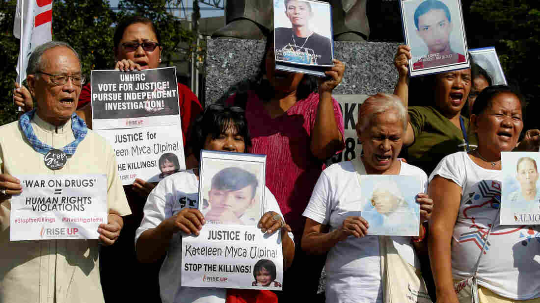U.N. Human Rights Council To Investigate Abuses In Philippines' Antidrug War