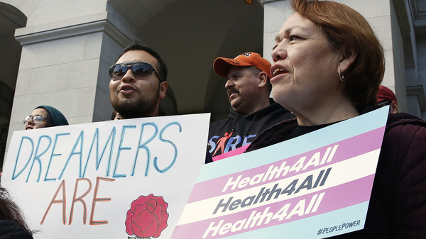 Young Undocumented Californians Cheer Promise Of Health Benefits