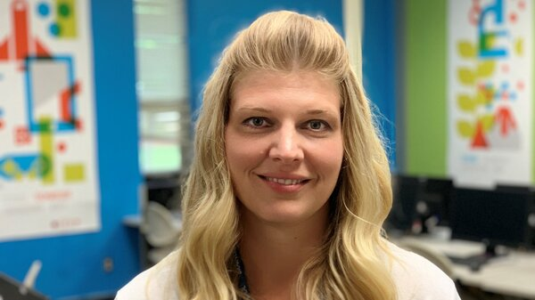Janelle Menzel is a high school math teacher in Brainerd, Minn.