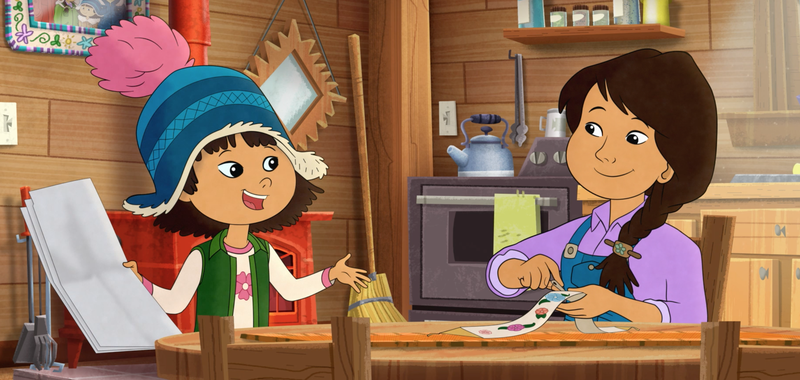 In Three New Animated Cartoons, Indigenous Characters Are