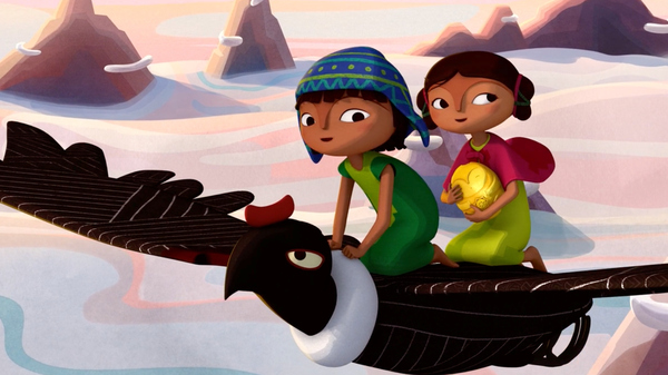 In the Netflix film Pachamama, set in the Andes during the time of Spanish conquest, 10-year-old Tepulpai and his friend Naira go on a journey to retrieve their village's treasured statue.