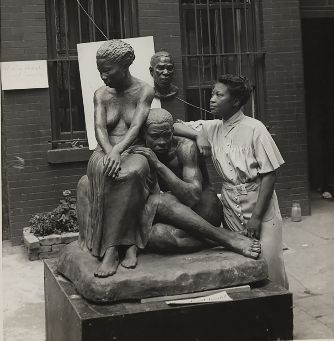 Sculptor Augusta Savage Said Her Legacy Was The Work Of Her Students