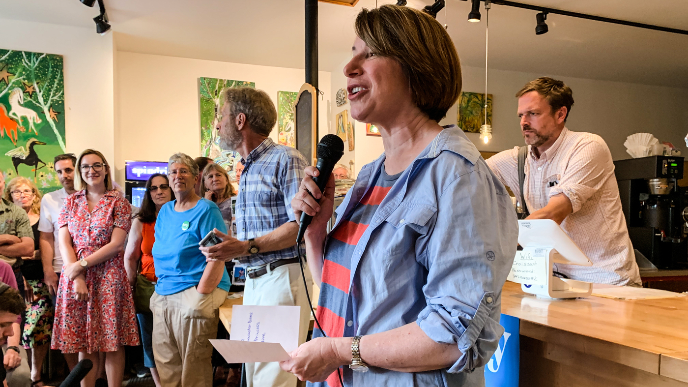 On The Trail With Amy Klobuchar