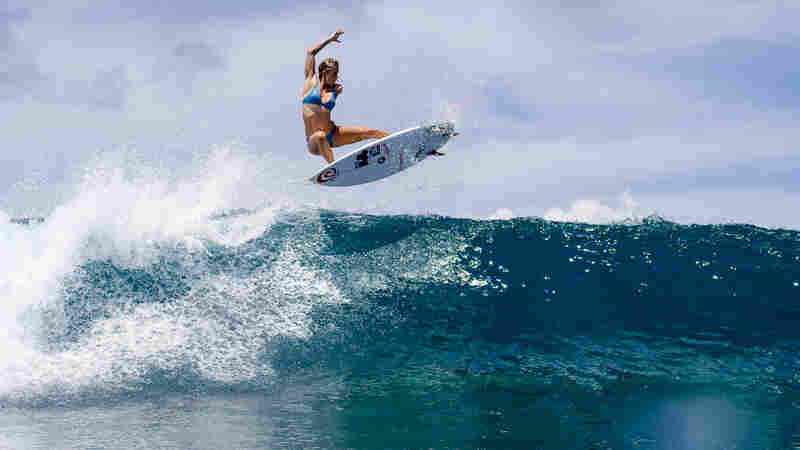 For Bethany Hamilton, Surfing Is 'An Escape From All The Chaos On Land'