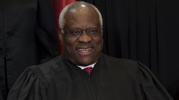 photo image Clarence Thomas: From 'Black Panther Type' To Supreme Court's Conservative Beacon