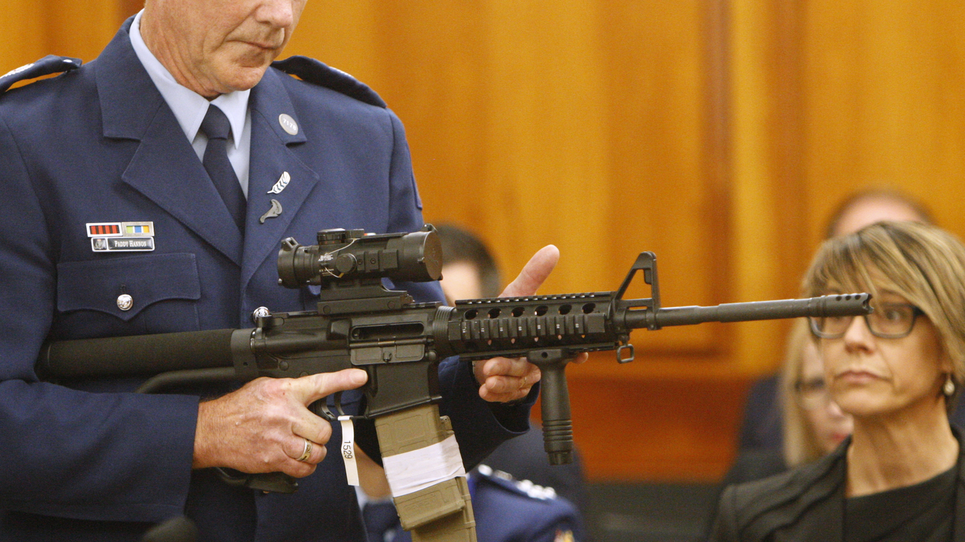 New Zealand Holds Its First Gun Buyback Since ChristChurch Shootings
