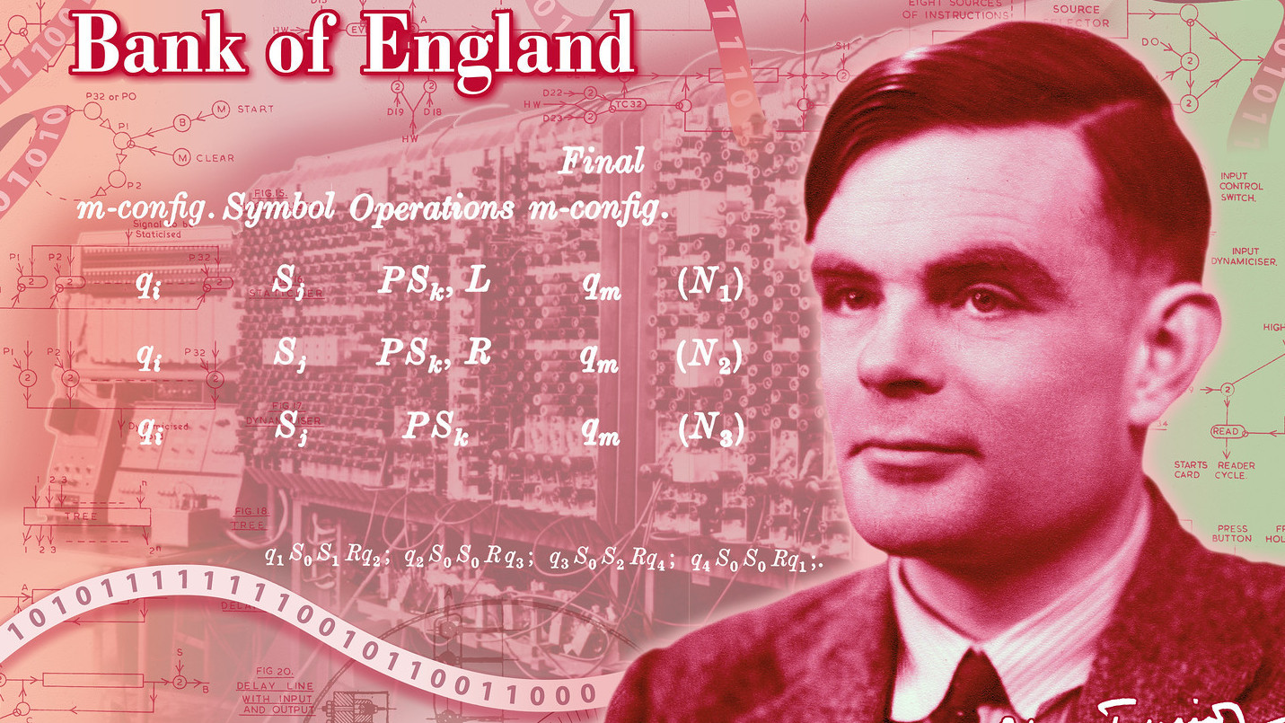 Alan Turing, WWII Hero And Computing Genius, Will Be On Bank Of England's £50 Note