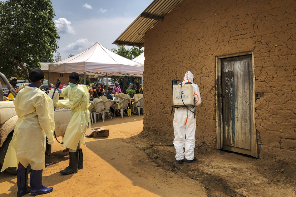 The World Health Organization says more than 1,650 people have died from the current outbreak of Ebola in the Democratic Republic of Congo. (Al-hadji Kudra Maliro/AP)