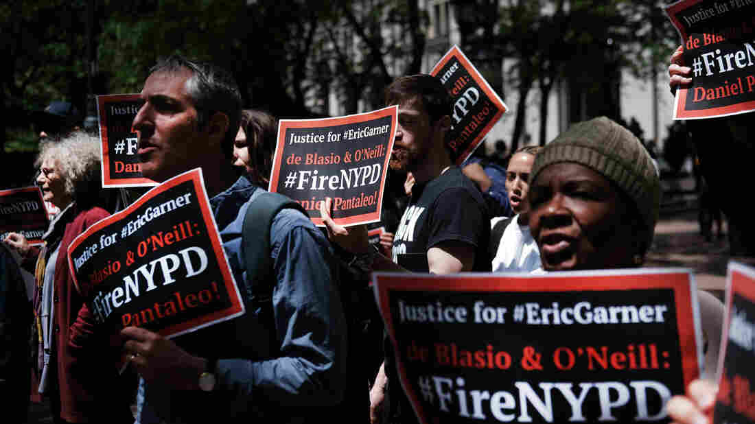 Protesters want justice for Eric Garner