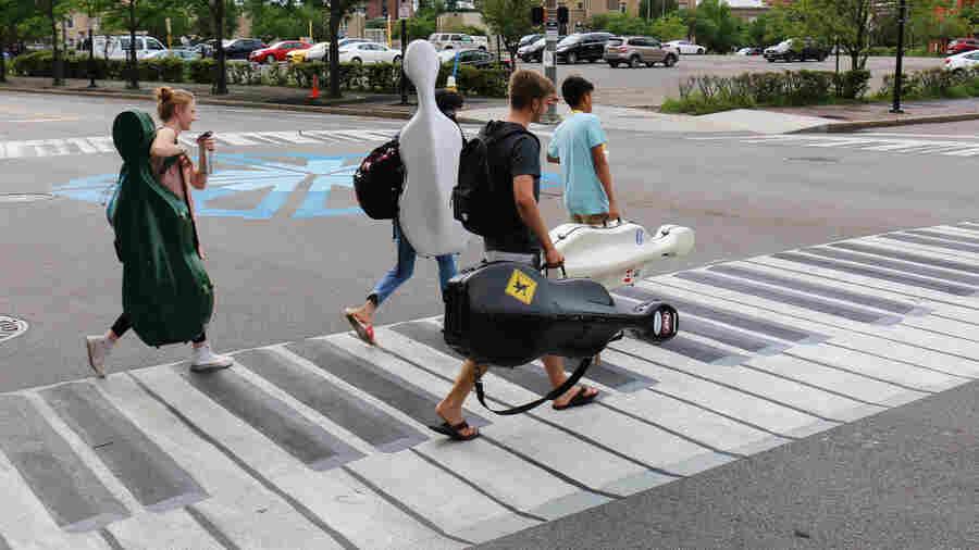 Walking On Painted Keys: Creative Crosswalks Meet Government Resistance