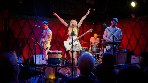 Charly Bliss performs at Rockwood Music Hall.