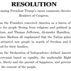 READ: Here's The Resolution Condemning Trump's Racist Comments About Congresswomen